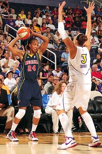 Tamika Catchings and Diana Taurasi