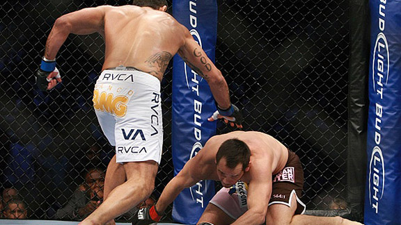 Rich Franklin and Vitor Belfort