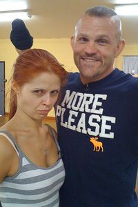 is chuck liddell dating anna