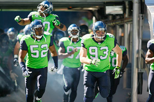 Seahawks alternate green jerseys