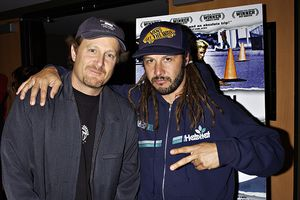Tony Alva and Stacy Peralta