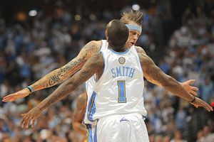 J.R. Smith and Chris Andersen