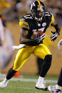 Scott Boehm/Getty Images Mike Wallace had 39 catches for 756 yards and
