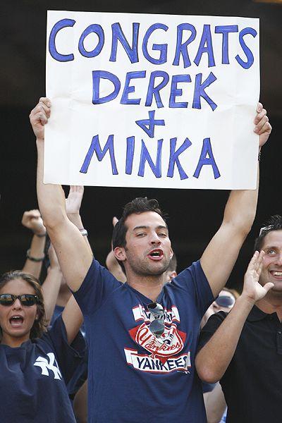 Congrats Derek and Minka