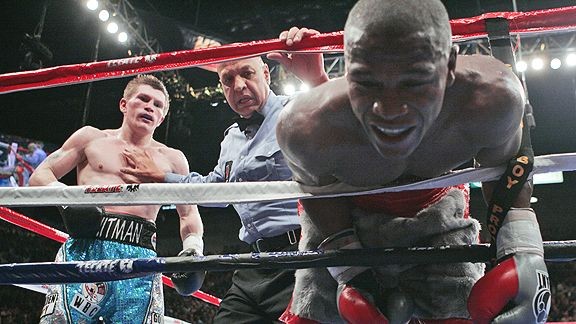 Ricky Hatton and Floyd Mayweather