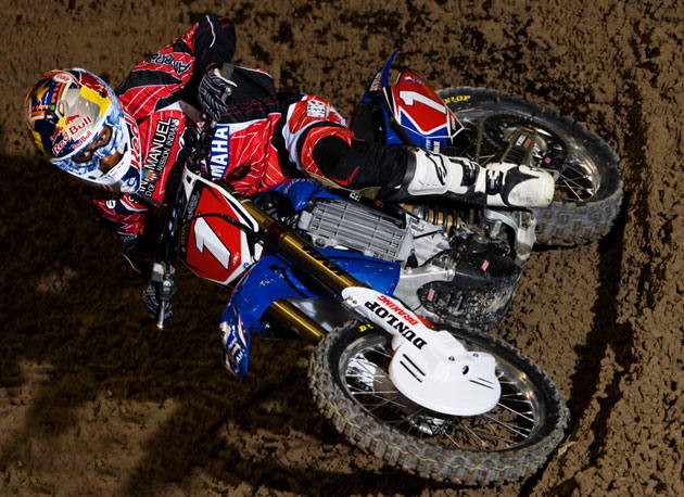 James Stewart's consistent riding and sheer ripping speed earned him the overall win at the Rockstar U.S. Open of Supercross.