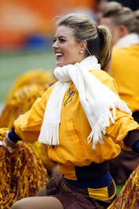 Broncos cheerleader