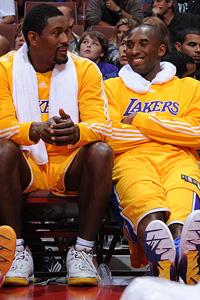 Ron Artest & Kobe Bryant