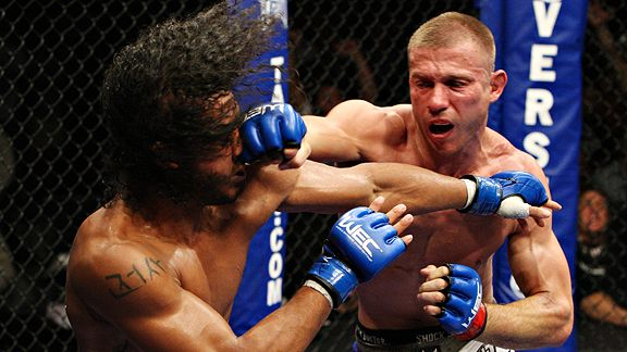 Benson Henderson and Donald Cerrone