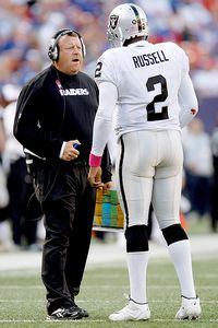 Tom Cable and JaMarcus Russell