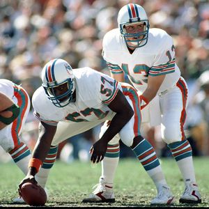 Dwight Stephenson and Dan Marino