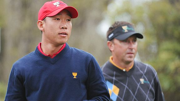 Anthony Kim, Robert Allenby