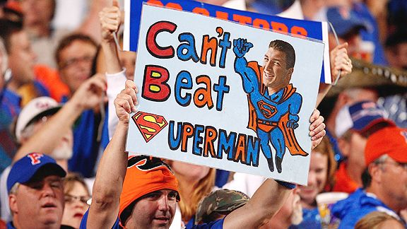Tim Tebow sign