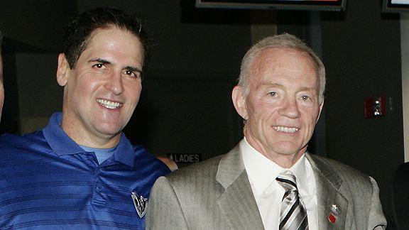 Mark Cuban and Jerry Jones