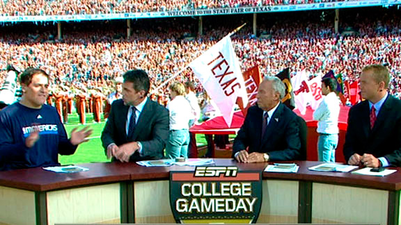 what time is college gameday espn nfl football schedule