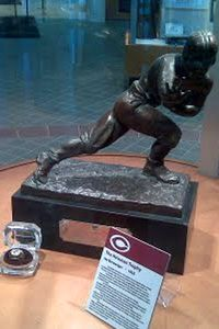 Heisman Trophy Case