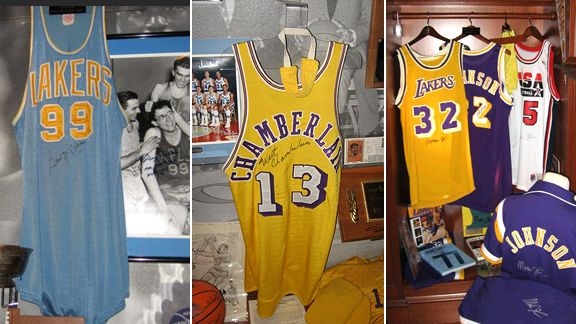 Check out David Kohler s impressive collection of Lakers memorabilia ... 456397eb4