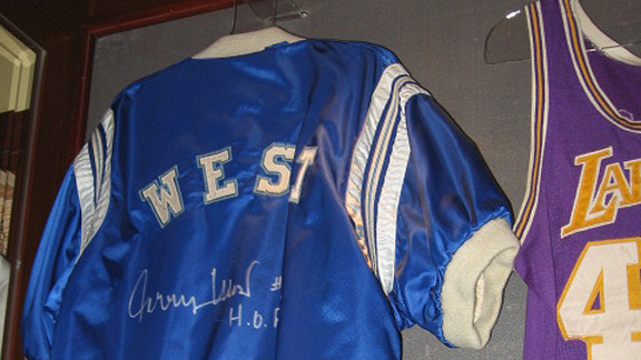 Jerry West's warm-up jacket