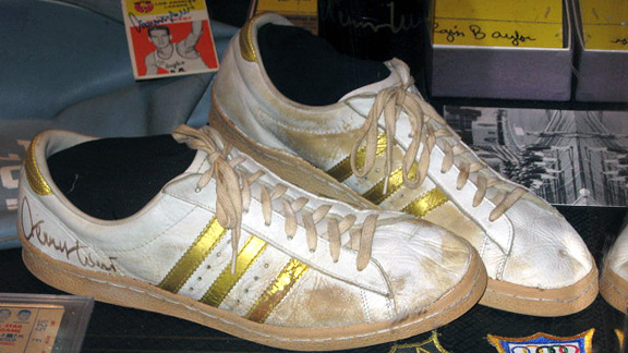 Jerry West game-worn shoes
