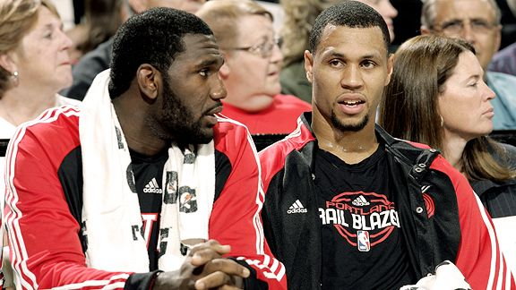Greg Oden & Brandon Roy