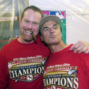Mark McGwire and Tony LaRussa