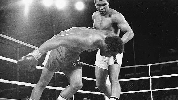 Muhammad Ali and George Foreman
