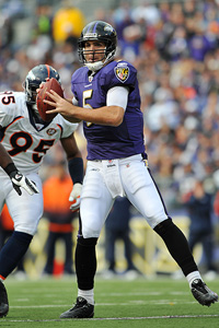 larry french getty images joe flacco had a solid game to help the