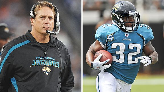 Jack Del Rio and Maurice Jones-Drew