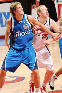 Dirk Nowitzki & Chris Kaman