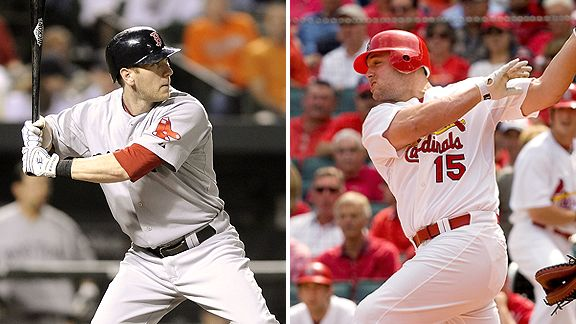 Jason Bay and Matt Holliday.  Money men, just not Giants.