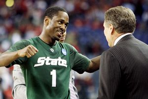 Tom Izzo & Kalin Lucas