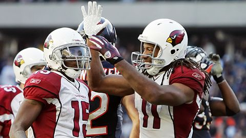 jerry lai us presswire larry fitzgerald pulled in two touchdowns to