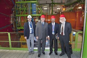 Large Hadron Collider inspectors