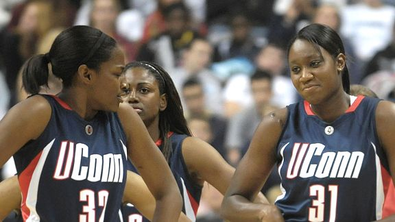 Kalana Greene and Tina Charles