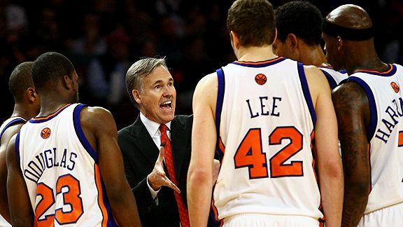 Mike D'Antoni and the New York Knicks