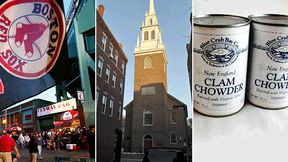 Fenway Park, Old North Church and New England clam chowder.