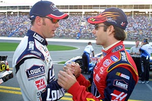 Jeff Gordon & Jimmie Johnson