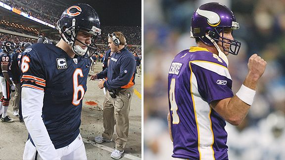 Cutler vs. Favre