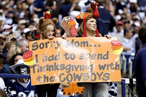 Thanksgiving Football Sign