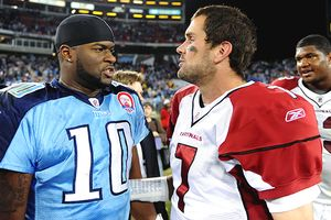 Vince Young and Matt Leinart