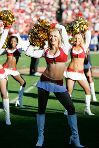 San Francisco 49ers cheerleaders
