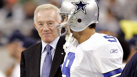 Jerry Jones/Tony Romo