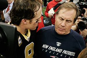 Drew Brees, Bill Belichick