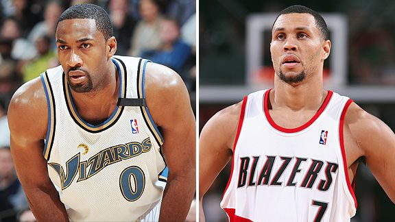 Gilbert Arenas and Brandon Roy
