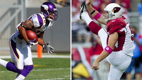 Percy Harvin, Ben Graham