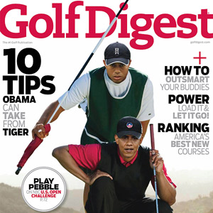 Golf Digest Jan/2010 issue