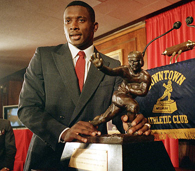 Heisman 1987 Tim Brown