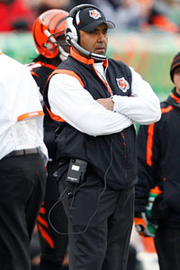 Frank Victores/US Presswire Marvin Lewis has led the Bengals to a 9-3