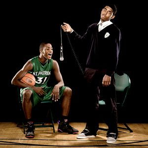 Kyrie Irving and Michael Gilchrist