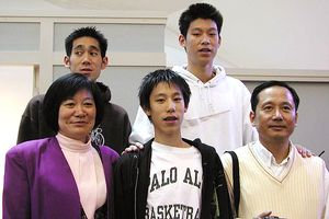 Jeremy Lin Family